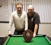 Well done to Dyson Leitch and Kev Lloyd from the Eight Farmers on winnings the Doubles KO