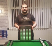 Well done to Kristopher Prince on winning the Player of the Year, beating Phil Malam 8-6