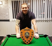 Well done to Mike Kernan from Pocket on winning the Singles KO 4-2