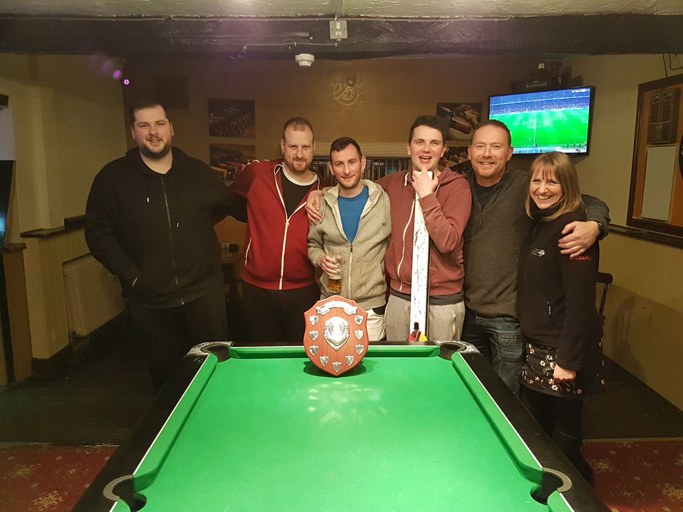 Well done to the White Lion beating last years winners in the final