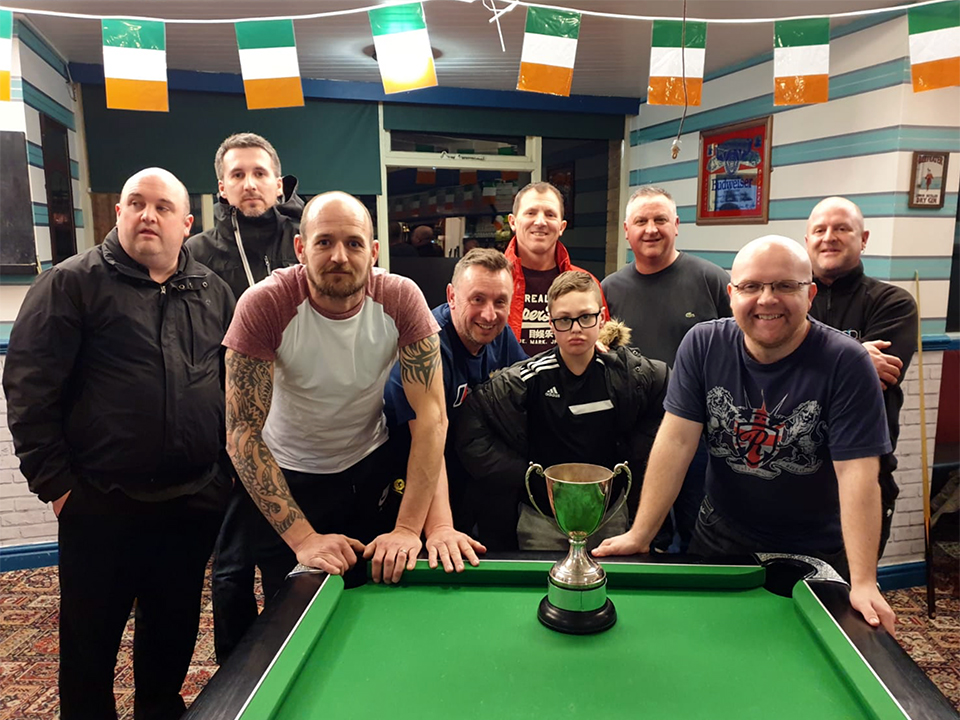 Pictured is the 2019 3 Man KO Finalists: The Eight Farmers A and Rifleman A