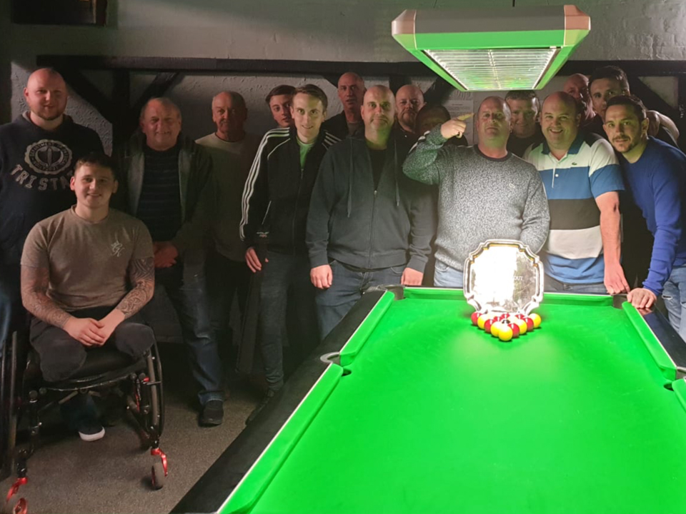 Pictured is the 2019 Plate KO Finalists the Turnpike and Eight Farmers