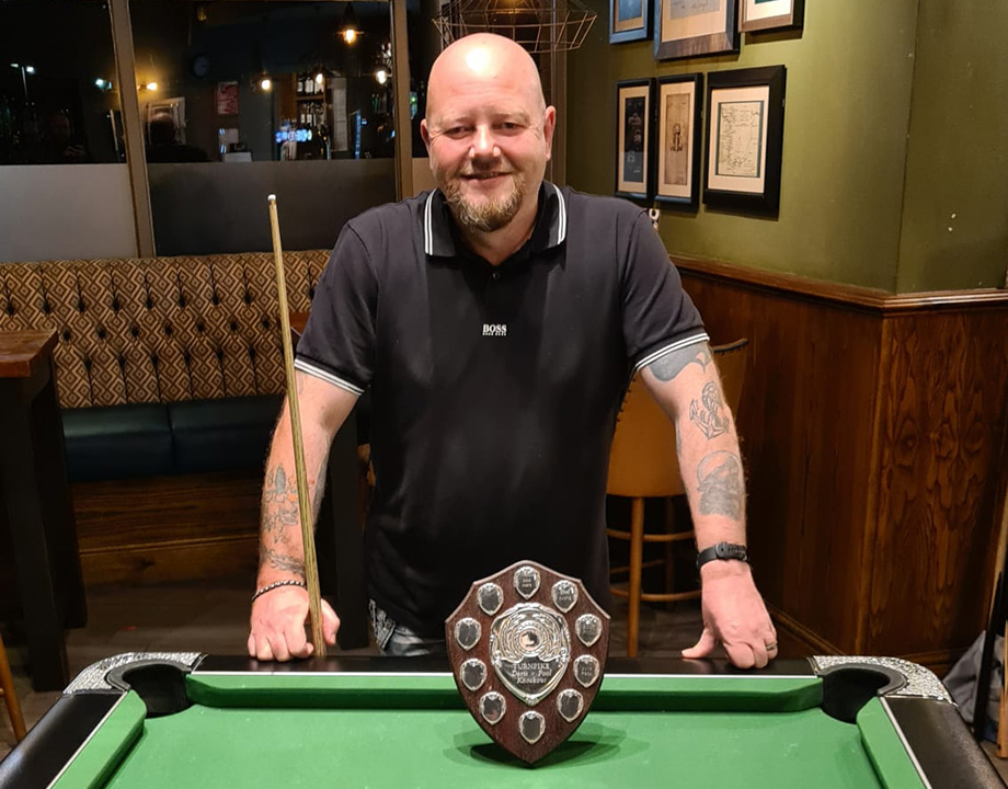 Karl Robinson from the Turnpike was the BOO KO 2020 winner